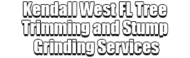 Kendall West FL Tree Trimming and Stump Grinding Services Logo-We Offer Tree Trimming Services, Tree Removal, Tree Pruning, Tree Cutting, Residential and Commercial Tree Trimming Services, Storm Damage, Emergency Tree Removal, Land Clearing, Tree Companies, Tree Care Service, Stump Grinding, and we're the Best Tree Trimming Company Near You Guaranteed!